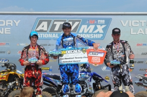 Pro ATV Podium Sunday Creek MX