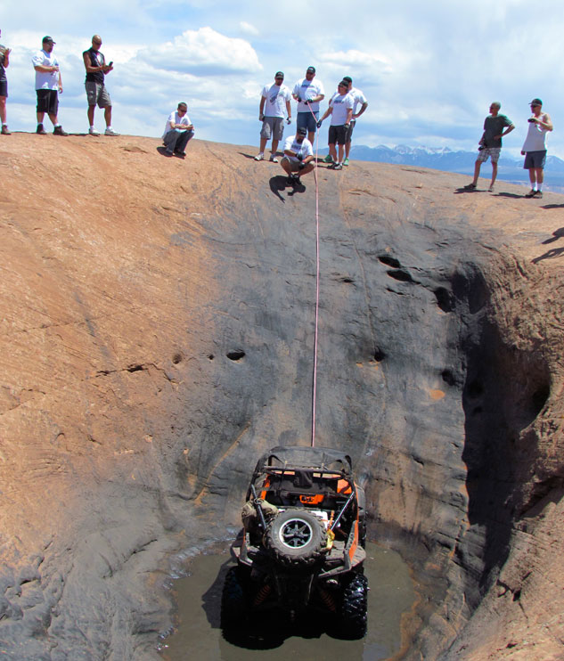 Rock Crawler with Lead Rope