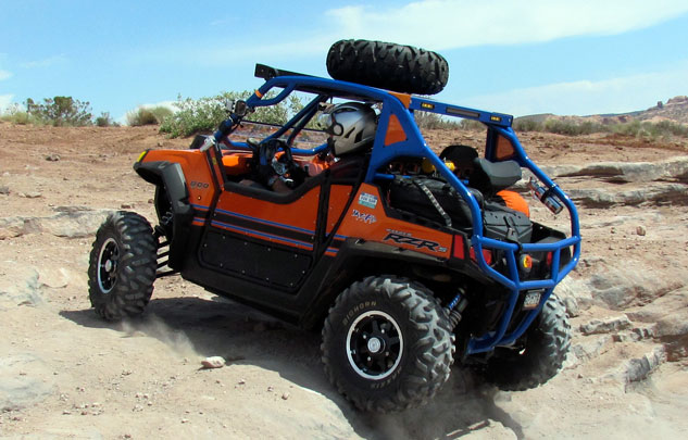 Polaris RZR S wiith Spare Tire