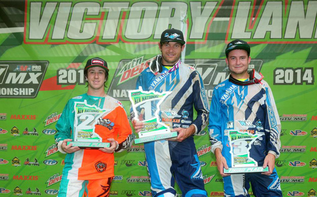 Spring Creek MX Podium
