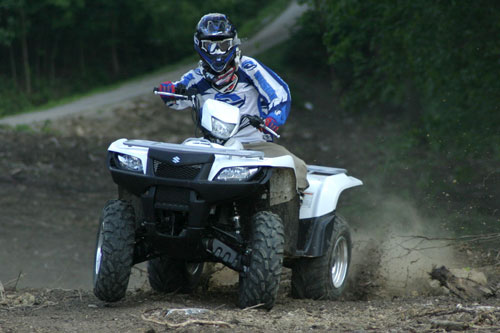 Suzuki KingQuad 750 with Power Steering