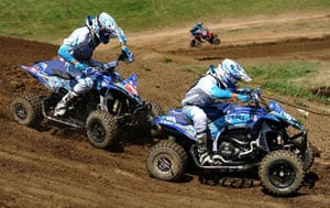 Thomas Brown and Chad Wienen AMSOIL Spring National
