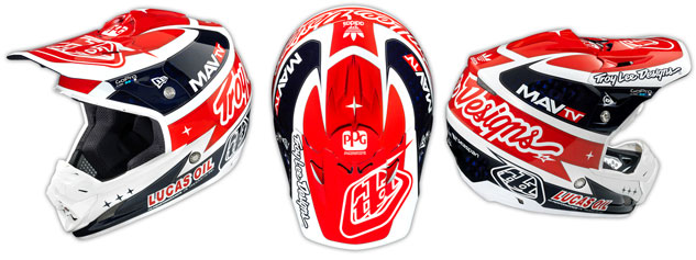Troy Lee Designs SE3 Team Carbon Helmet