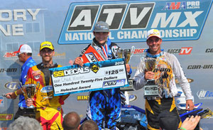 Unadilla MX Podium
