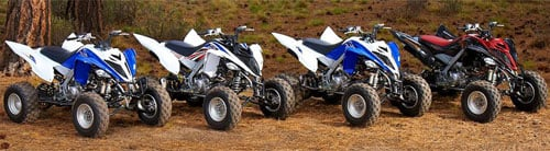 2013 Yamaha Raptor 700 Family