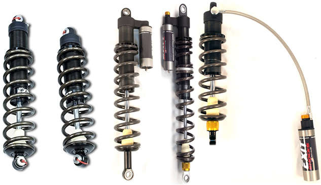 Zbros Racing EXIT Shocks