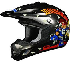 FX-17Y ($64.95 – $79.95): Contains YLS (Youth Liner System); this helmet can be converted to any of three youth helmet sizes through the simple swapping of liner components; 11 points ventilation. DOT, ECE approved.