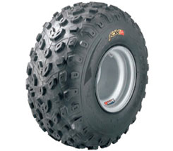 The Fox A/T features a V-shape pattern for straight line traction and clean out in hard-packed and loose terrain. Lightweight 2-ply radial casing provides a large footprint for improved traction and a smooth predictable ride. Prices start from about $21.