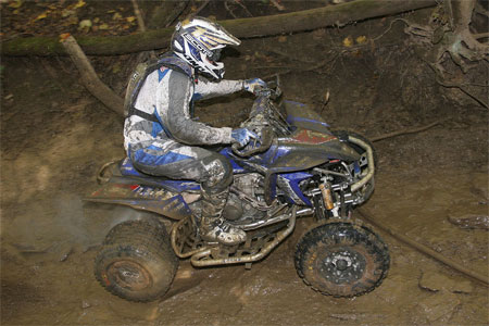 Bill Ballance has already locked up his ninth straight GNCC ATV title.