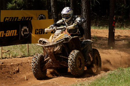 Cliff Beasley continued his winning ways in the U2 class.