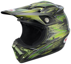 Moto-8 ($399): Kevlar, carbon fiber, fiberglass composite shell; adjustable visor with air intake vents; Velocity Flow Ventilation system; removable/washable liner; ventilated EPS-lined chinbar. SNELL, DOT approved.