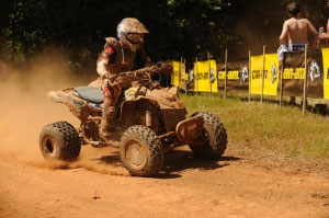 Chris Bithell gave Can-Am its first GNCC win of the year.
