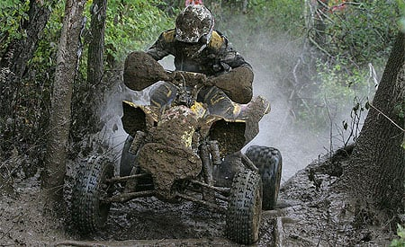 Chris Bithell gave Can-Am its first XC1 victory in the GNCC series.