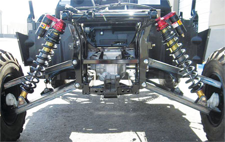 New Suspension System From Dragonfire Racing Atv Com