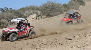 Notman and Blais do battle at Cahuilla Creek.