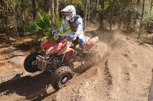 Chris Borich continued his GNCC dominance with a win at the Westgate River Ranch.