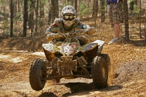 Chris Borich earned 10 wins in 13 Can-Am GNCC Series races in 2009.
