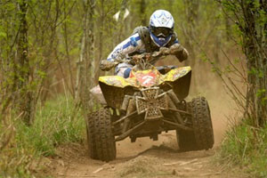 Chris Borich earned his first GNCC championship in 2009.