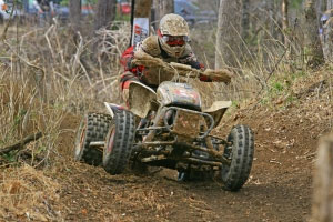 Bryan Cook finished sixth in the overall GNCC standings as a privateer in 2009.