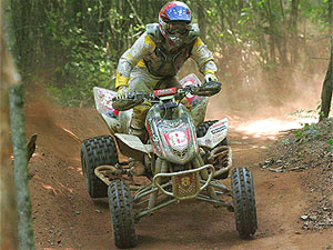 Bryan Cook earned his first GNCC win of 2008.