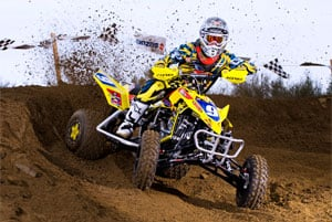 Josh Creamer takes over ATV MX points lead.