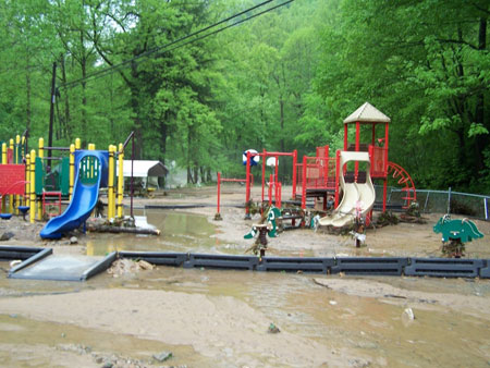 Southern West Virginia has been hit hard by floods.