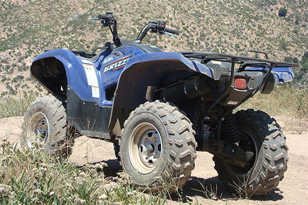 Yamaha's Newnan, Ga. facility will now manufacture larger displacement ATVs like the Grizzly 550.