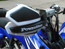 PowerMadd handguards keep your hands safe while you ride.