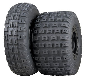 New ITP QuadCross MX Pro Lite front and rear tires.