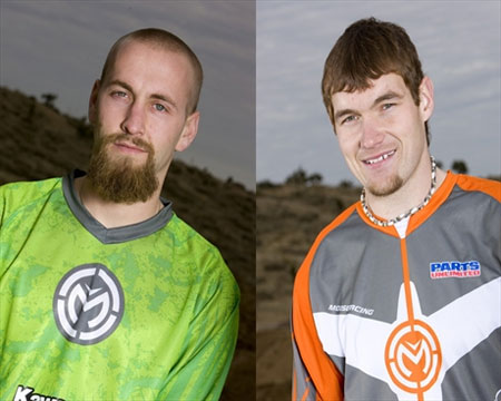 Josh Creamer and Chad Wienen lead Kawasaki's AMA ATV National Motocross team.