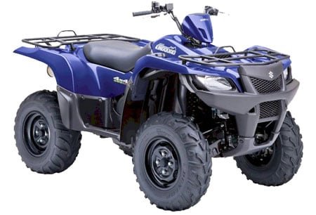 2011 Suzuki KingQuad 500 AXi Power Steering
