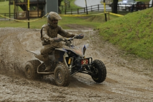 Despite his fourth-place finish, Taylor Kiser sits second in the standings.