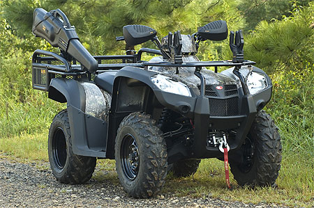Kymco has its sights clearly set on lucrative middleweight utility market with the the MXU 500 IRS.