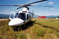 LifeFlight helicopter (Image courtesy of LifeFlight of Maine)