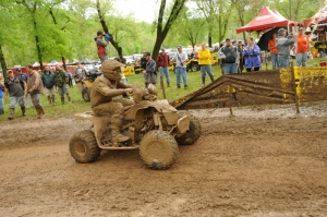 Adam McGill rode his Can-Am DS450 to a second-place finish.