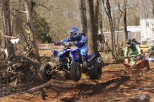 Walker Fowler rides his Yamaha to victory.