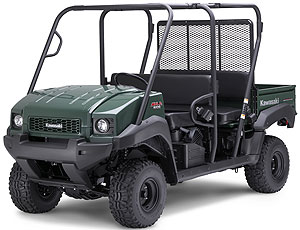 The front end of the 4010 Trans4x4 has new styling for 2009.