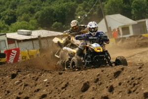John Natalie earned another podium finish for Motoworks Can-Am.