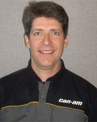 New Can-Am racing manager Jimmie O'Dell.