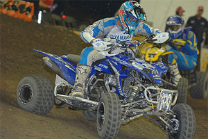 Pat Brown will test out the YFZ450R in the top ATV motocross races.