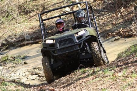 Polaris' 2010 Ranger 400 has been a big sales success.