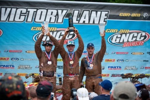 Adam McGill, Chris Borich and Bill Ballance on the Pro podium.