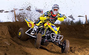 Josh Creamer picked up a motocross victory recently for Pro Armor.