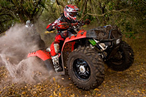 Darryl Rath had a great year on the Polaris Sportsman 850 XP.