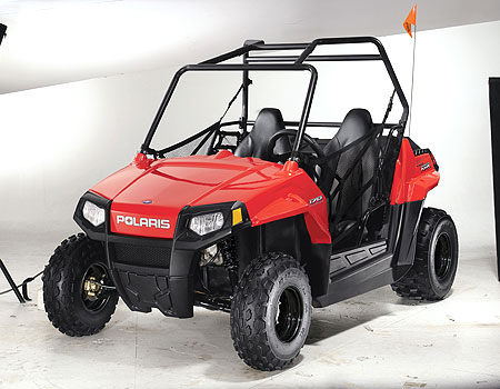The youth RZR 170 looks very much like its big brother.
