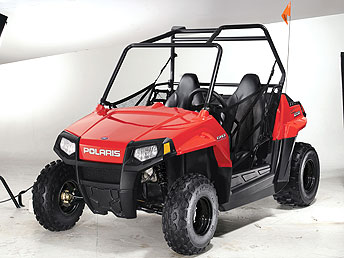 polaris introduces youth rzr. Black Bedroom Furniture Sets. Home Design Ideas