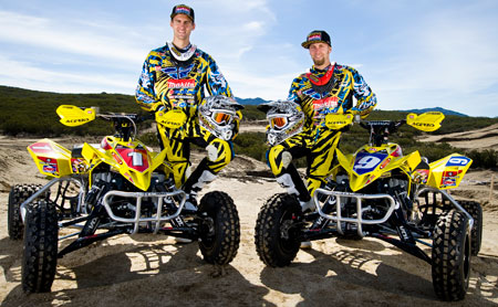 There was no stopping the Rockstar Makita Suzuki team in 2010.