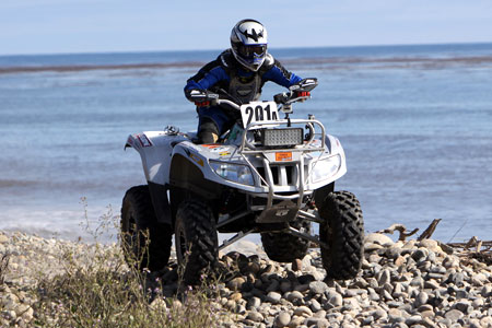 Thundercat  on Arctic Cat Wins Utility Atv Class At Baja 500
