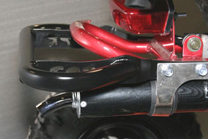 TPR grab bars are CPSIA compliant and meet all AMA racing requirements.