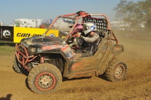 Fifty teams took part in the UTV race.